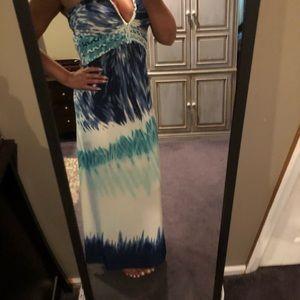 Cynthia Rowley Dresses - Cynthia Rowley maxi dress or beach cover up M